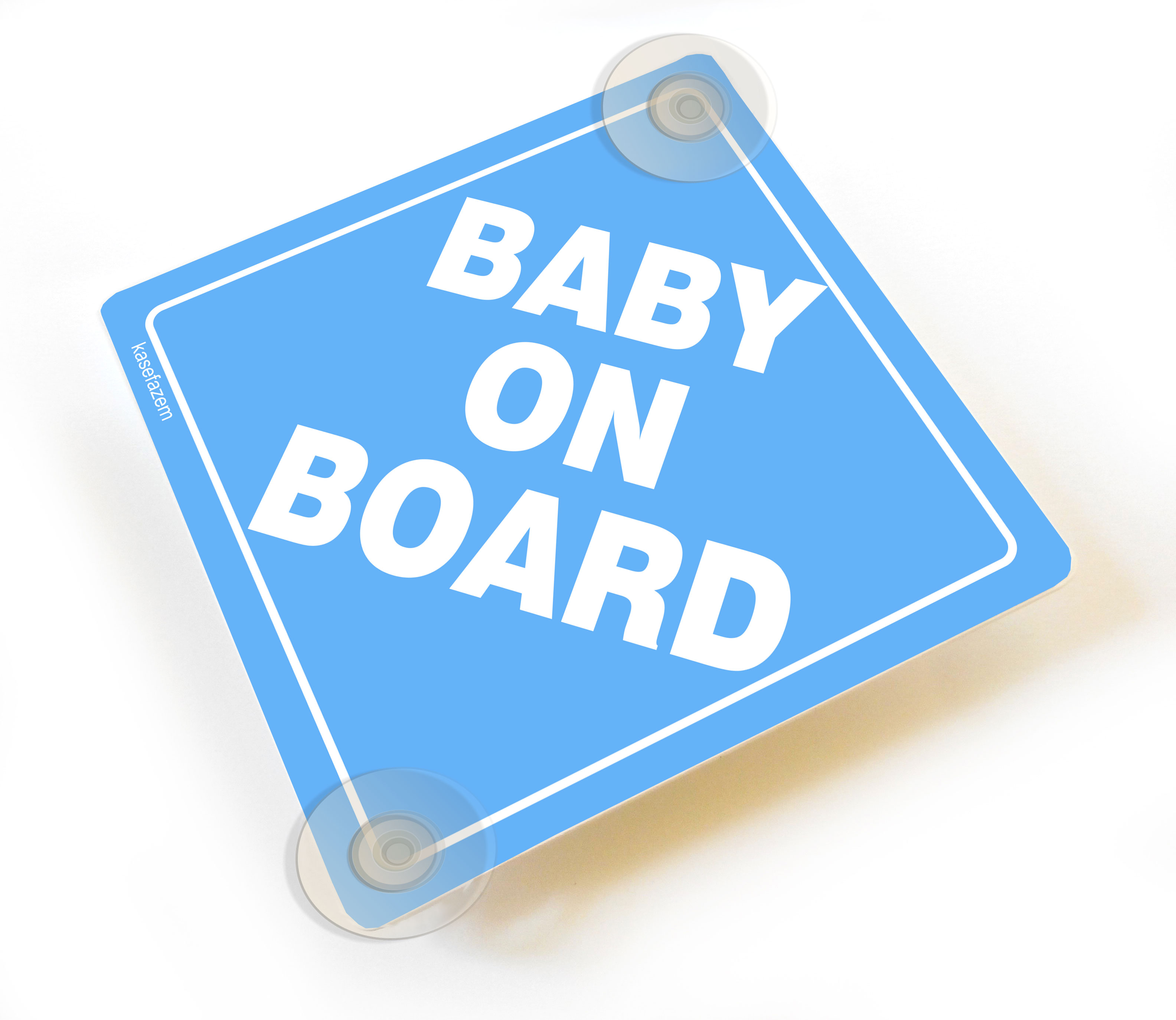 PERSONALISED Baby On Board Sign SISTERS ON BOARD Car Sign Suction Cup Sign
