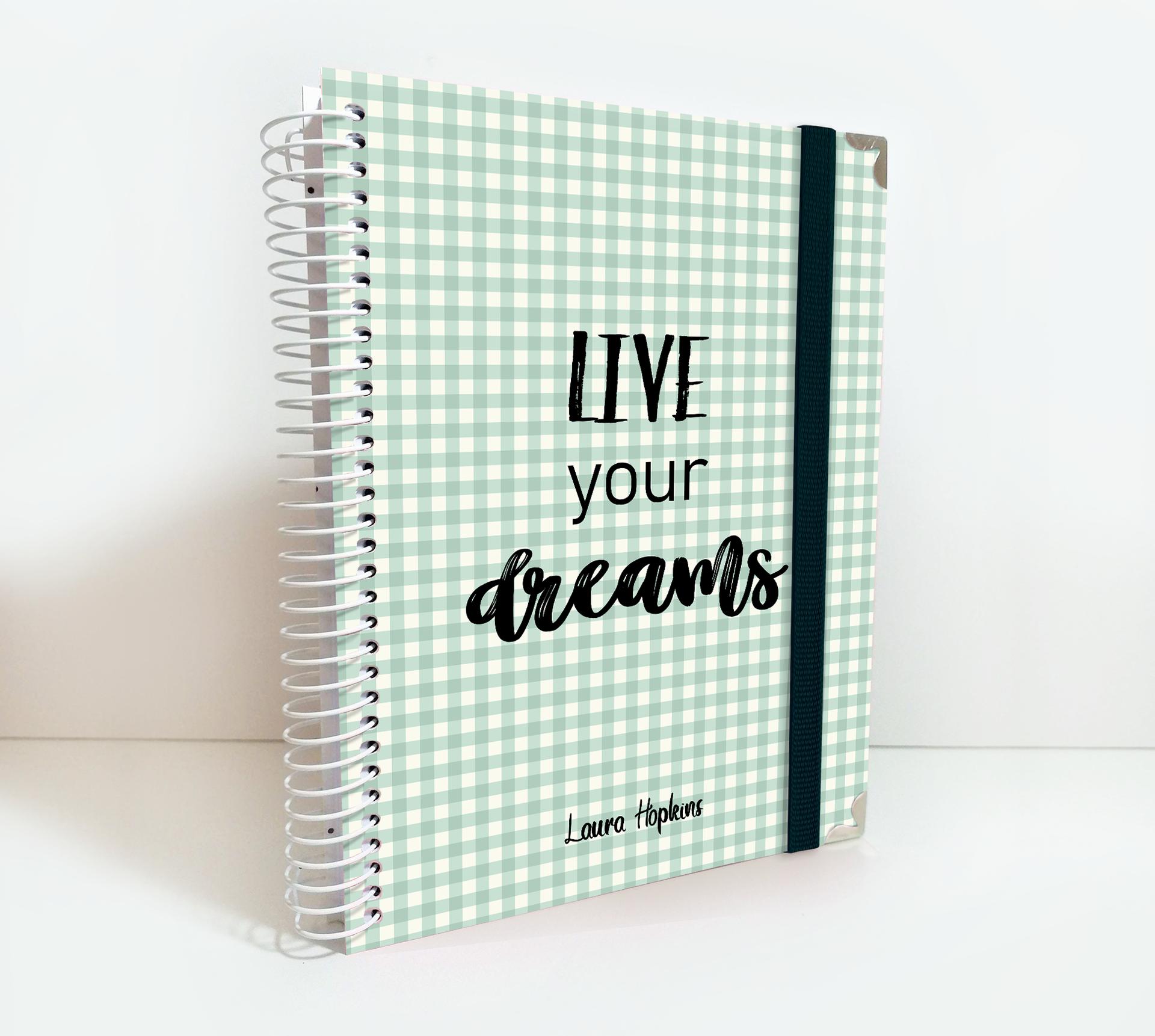 Mums tissu Planner A5 Diary 2020 nouveau