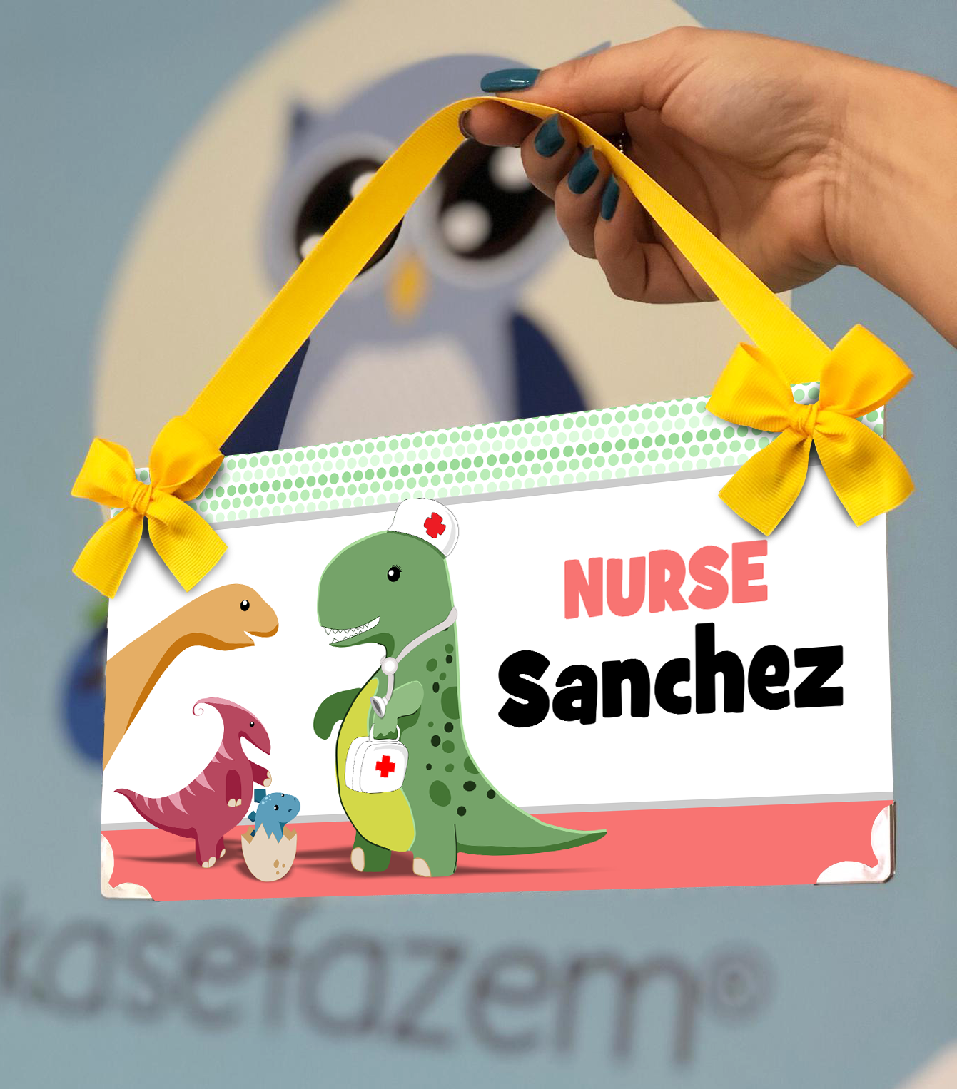 Lovely Door Sign Great For School Nurse Or Pediatric Nurse