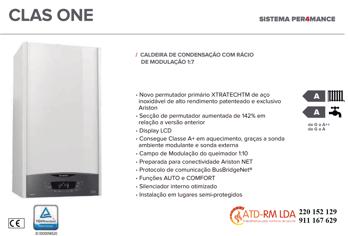 CALDEIRA ARISTON CLAS ONE