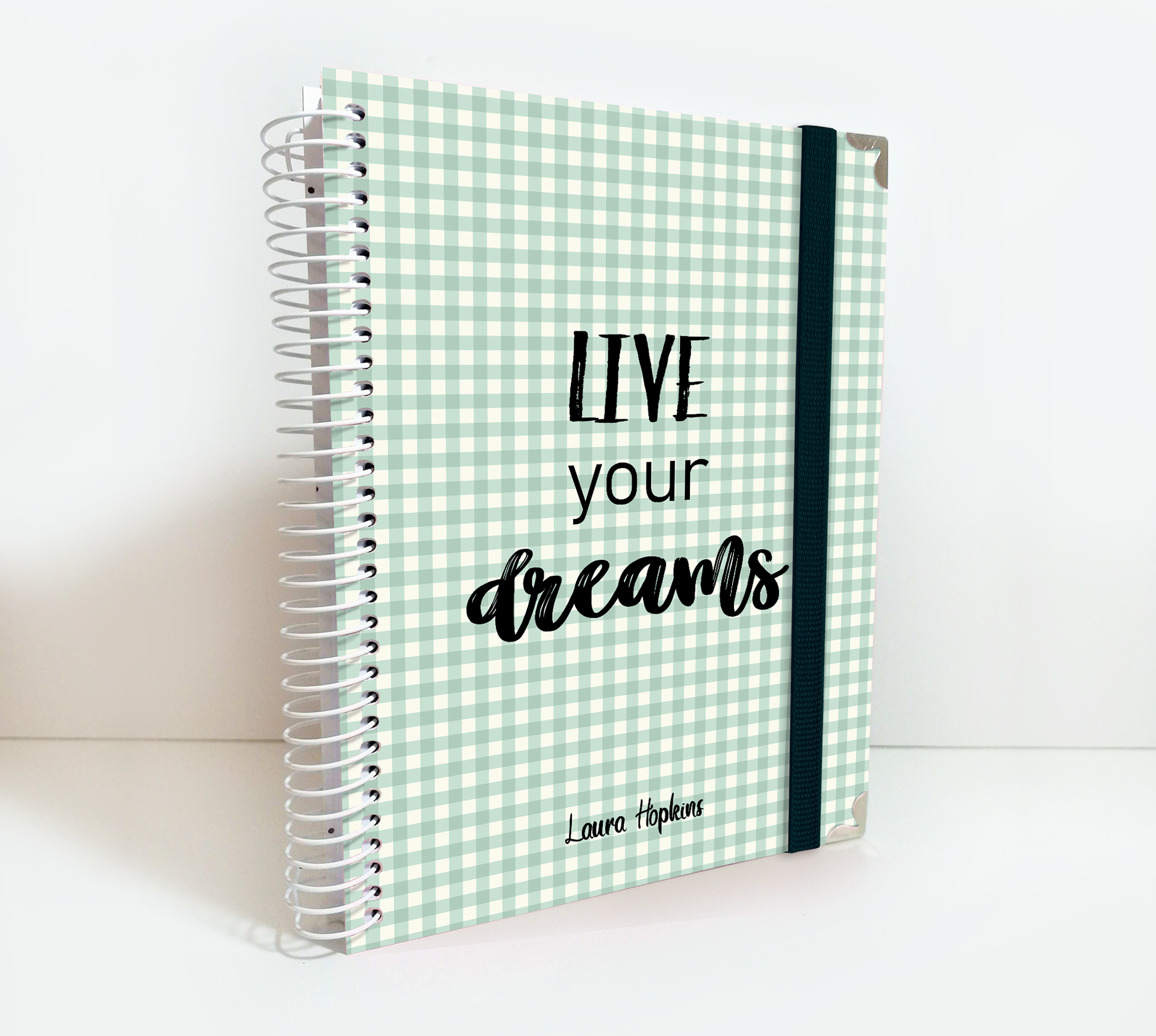 Personalized 2020 Weekly Planner I A5 Diary I Agenda I Bullet Journal I Hard Cover