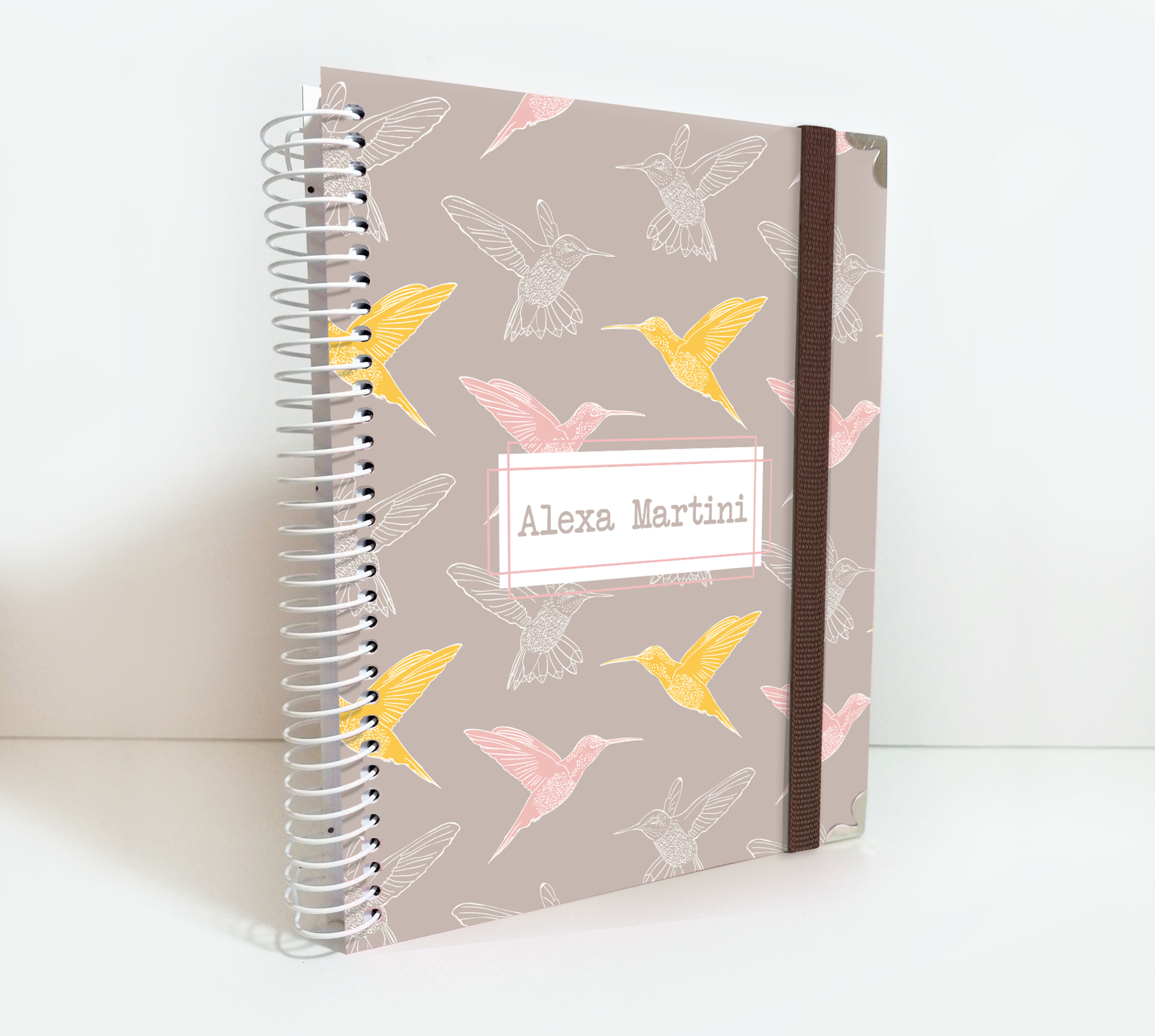Custom Weekly Planner for 2020/2021 by Kasefazem Hummingbirds Cover