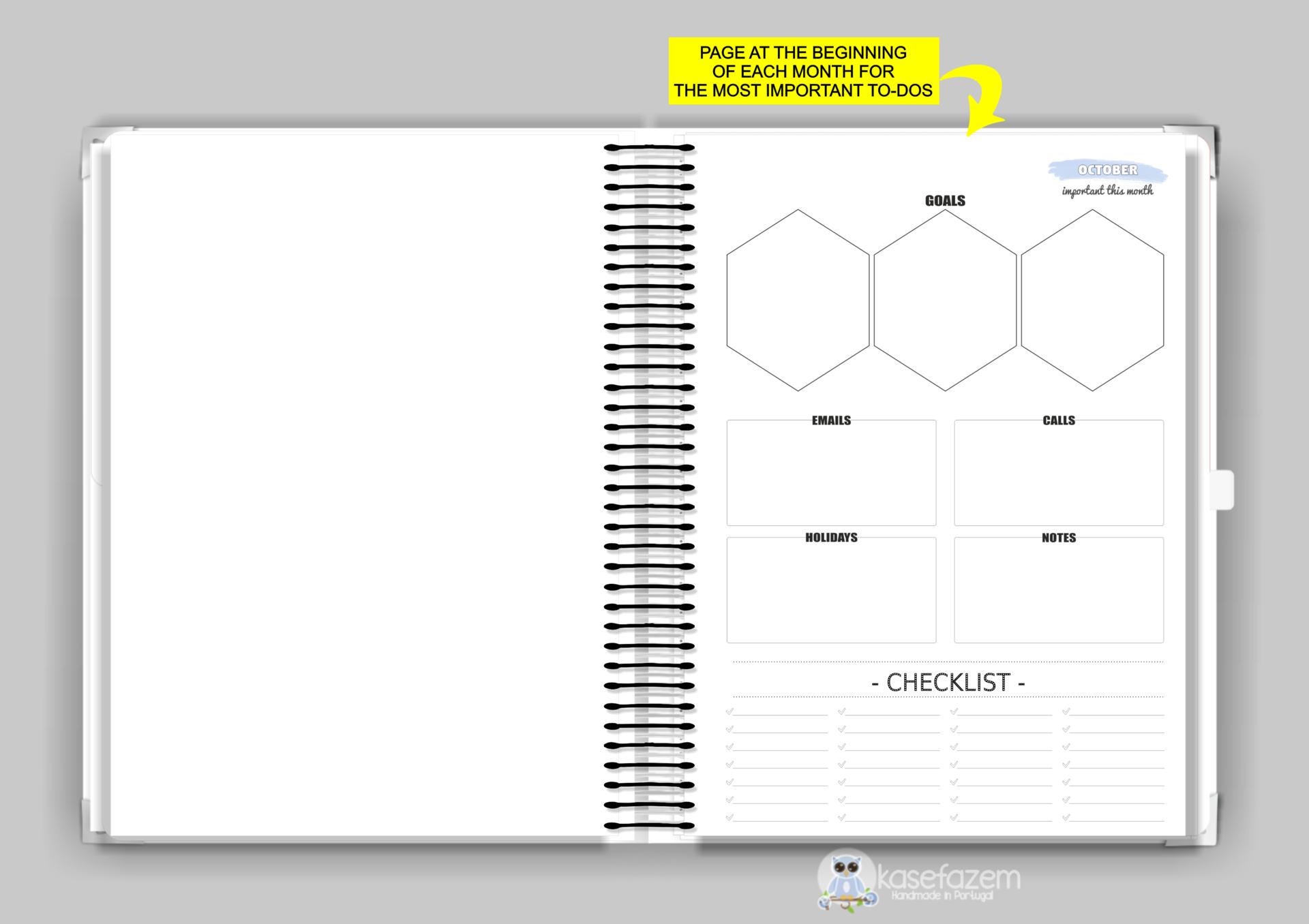 kasefazem personalized planner