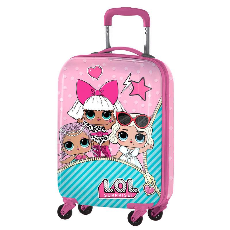 Trolley - mala de viagem ABS LOL surprise , 55 cm