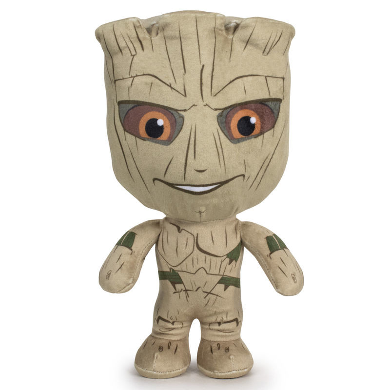 Peluche Groot Guardianes ds Galaxia Marvel 29cm