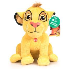 Peluche Simba 30cm A Guarda do Leão Disney com som