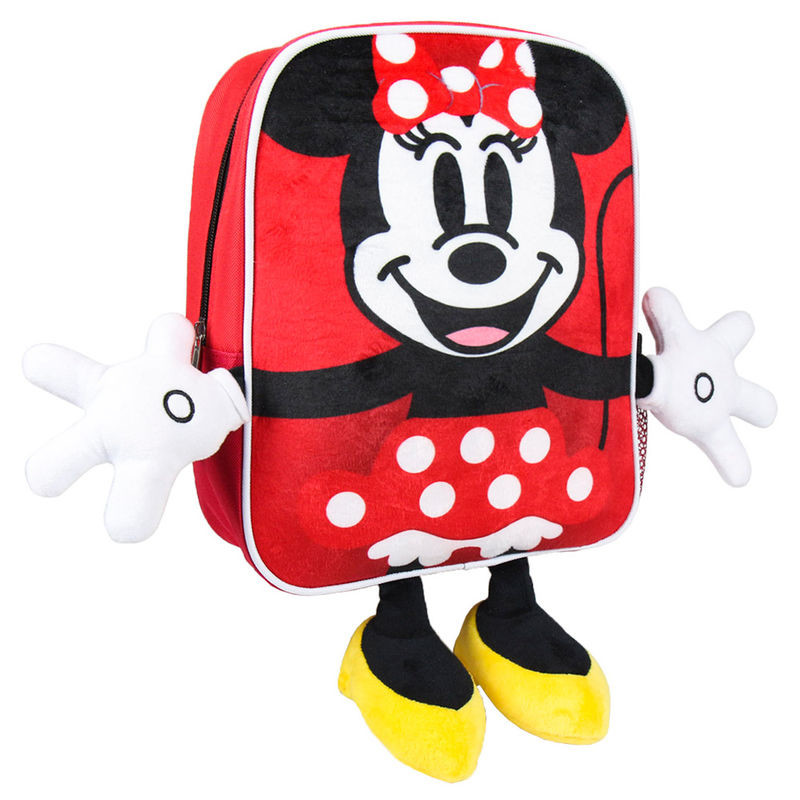 Mochila pré-escolar Minnie Disney 31cm
