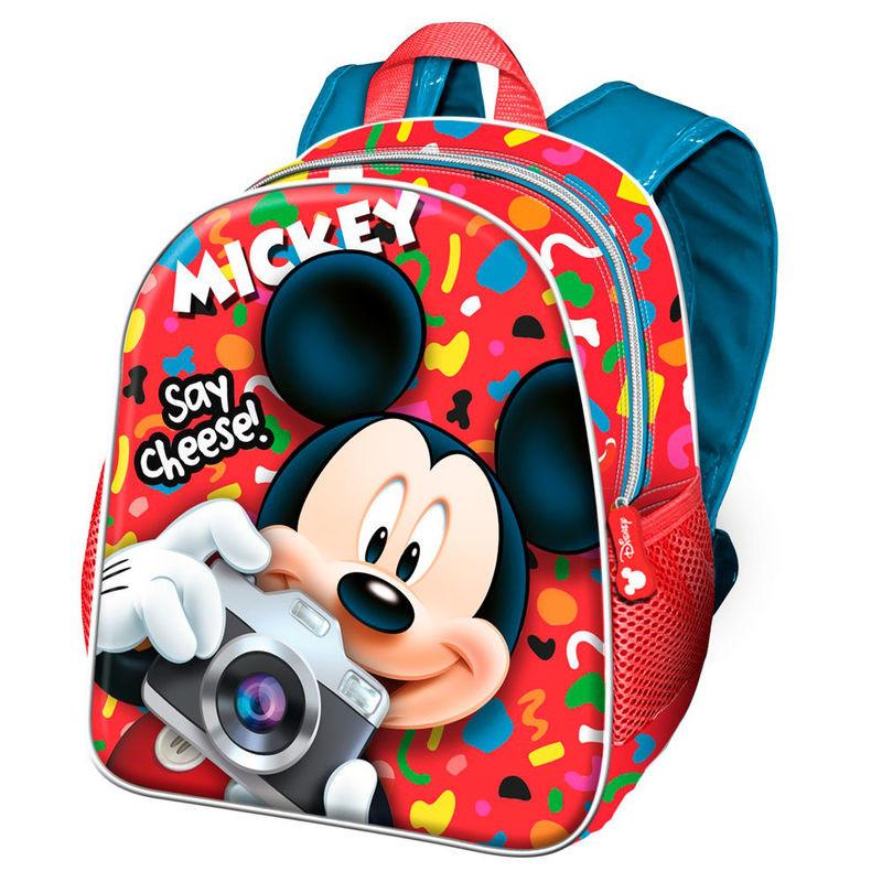 Mochila pré-escolar Mickey Say Cheese 30cm