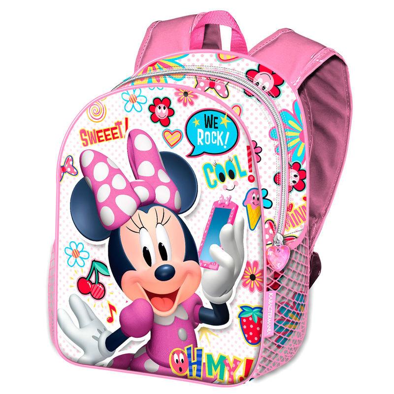 Mochila escolar Minnie Mouse Disney 40cm