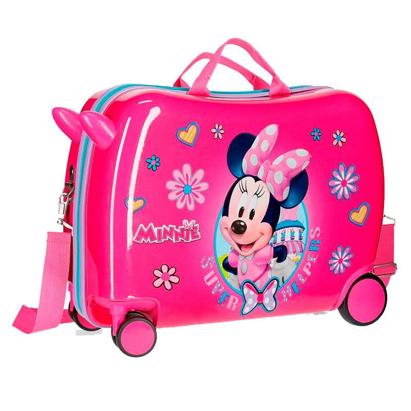 Mala ABS infantil Minnie Supper Helpers Disney direcional 39cm