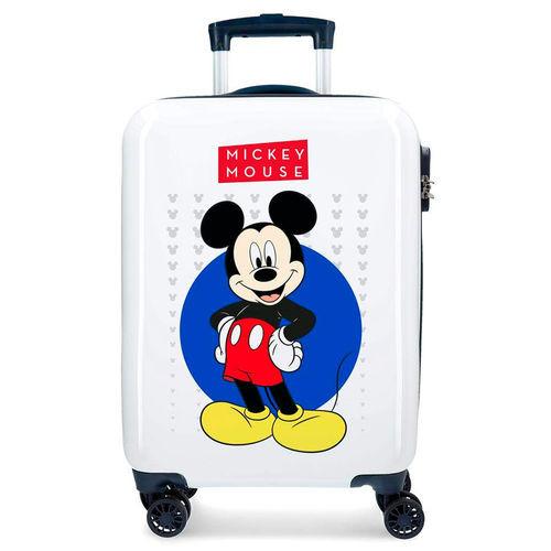 Trolley de viagem Mickey Enjoy the Day Blue Disney 4r 55cm