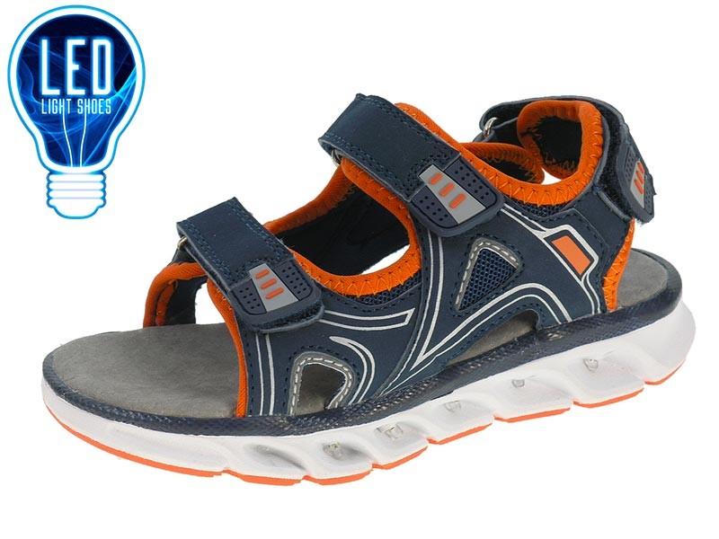 Sandálias com luzes LED