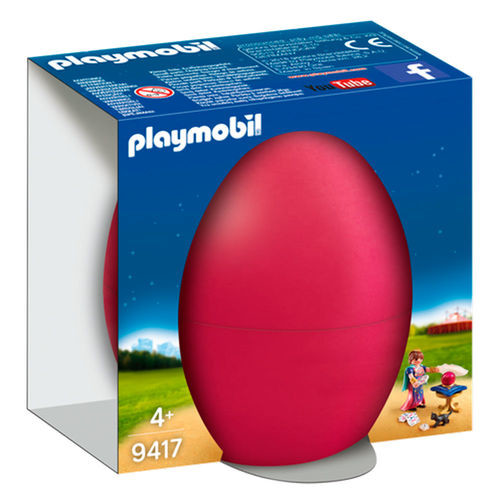 Figura com acessórios Playmobil Ovo