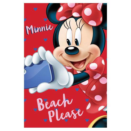Manta Polar Minnie Disney