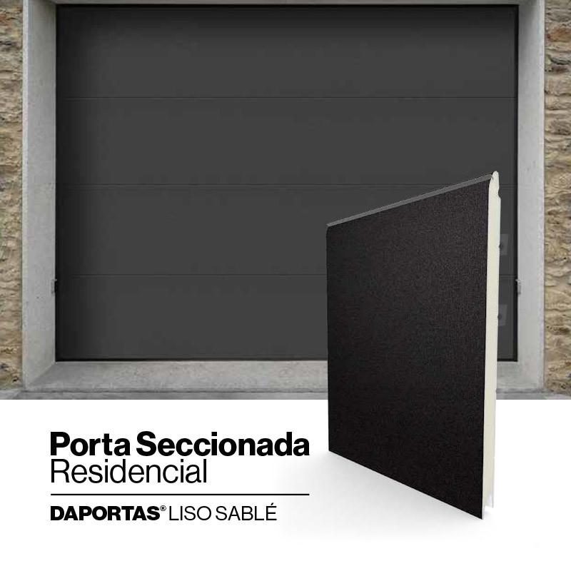 DAPORTAS® Liso Sablé   Porta Seccionada Residencial