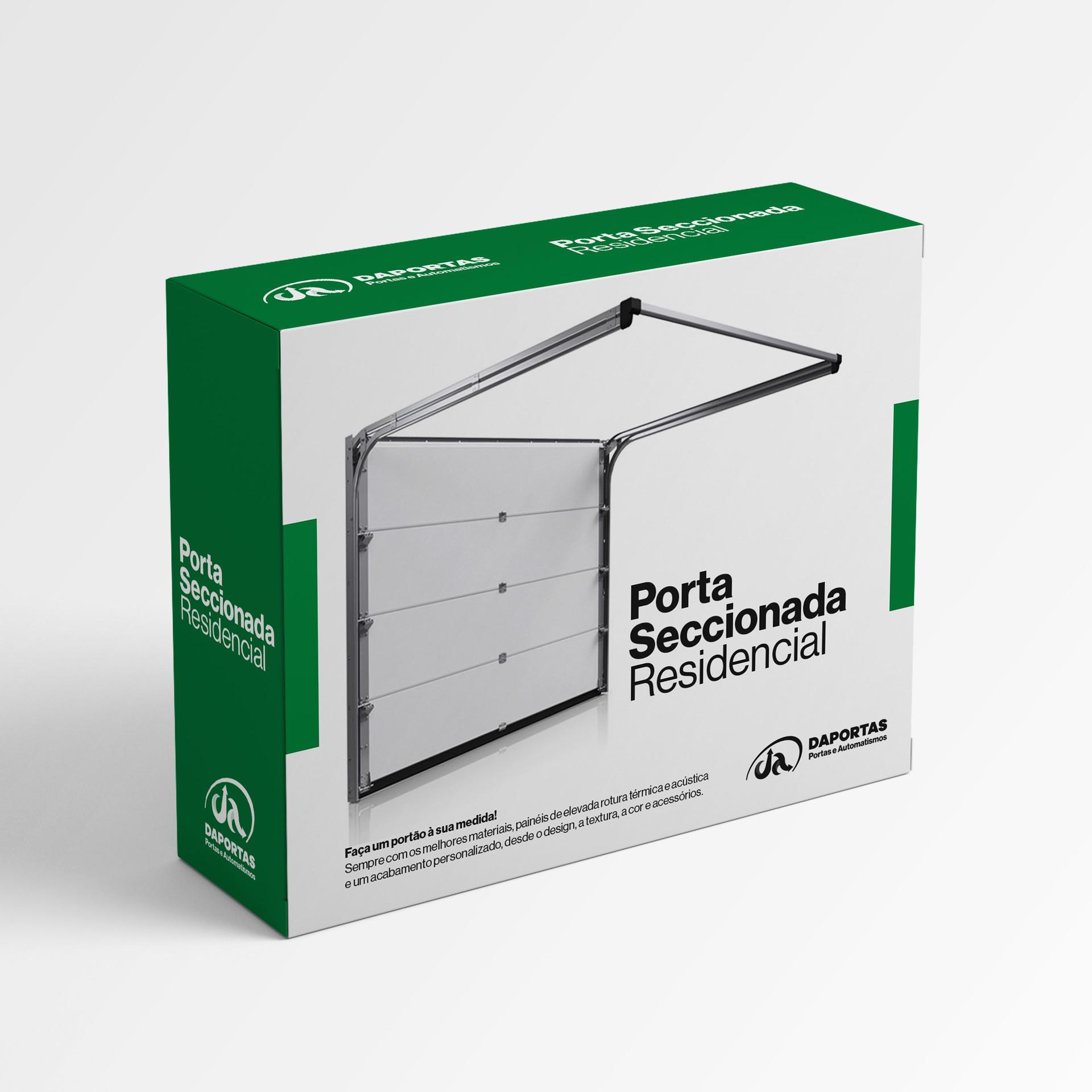 Porta Seccionada Residencial