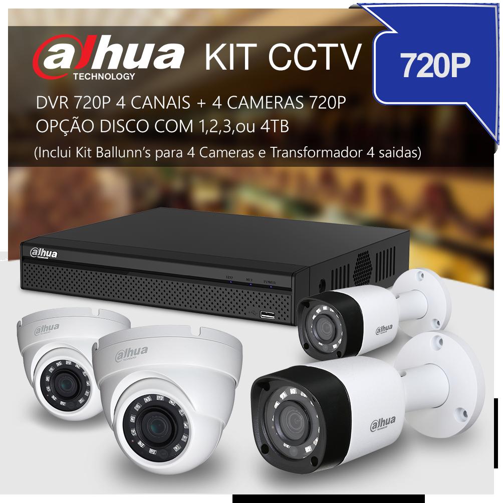 DAHUA KIT CCTV 720P
